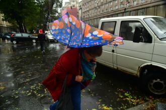 Alertă meteo de vreme severă. ANM anunță cod galben în București și 11 județe