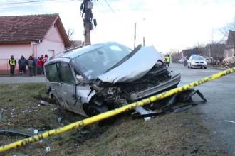 Greșeala unui șofer a ucis o bătrână şi a rănit grav o copilă de numai 5 ani