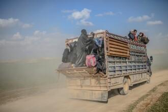 Cadavre decapitate ale fostelor sclave sexuale, lăsate în urmă de jihadiști