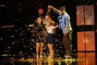 Al doilea Golden Buzz la Românii Au Talent. Cine este Ema, fetița care a uimit-o pe Andra