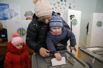 Alegeri în Republica Moldova: 49.09% prezența la vot. Primele rezultate oficiale