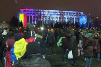 Protest în București față de OUG privind legile justiției. De ce a fost criticat Iohannis