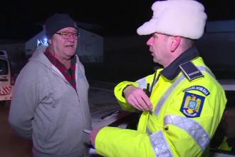Reacţia poliţiştilor după ce un şofer le-a spus că a băut bere înainte să urce la volan