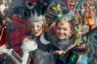 Atmosferă magică la Carnavalul de la Veneția. Una dintre tradiții, încălcată anul acesta