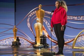 Cum a venit Serena William la gala Premiilor Oscar. La repetiţii a apărut în colanţi