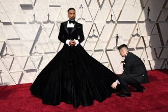 Actorul care s-a îmbrăcat în rochie la Oscaruri. Reacția lui Glenn Close când l-a văzut