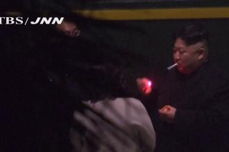 Kim Jong-Un a oprit trenul blindat ca să fumeze în gară. Cine i-a cărat scrumiera