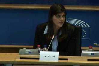 Kovesi, întrebată de Ivan în PE dacă a influenţat instanţa într-un dosar care o viza