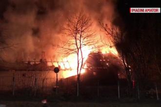 Grădiniță din Cluj distrusă din incendiu. De la ce ar fi pornit flăcările