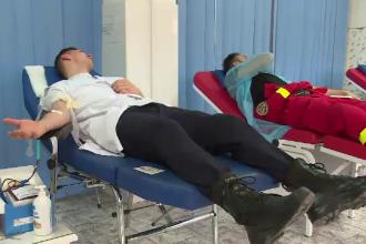 """Mobilizare a pompierilor din Bistrița Năsăud: """"Știm cât de important este sângele"""""""