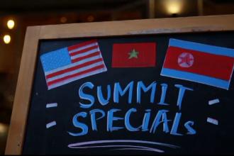"""Restaurantele din Hanoi, pregătite pentru summitul Kim-Trump : """"Mai îmblânzește tăria"""""""