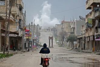 Un avion al regimului sirian a fost doborât de jihadişti. Ce s-a întâmplat cu pilotul