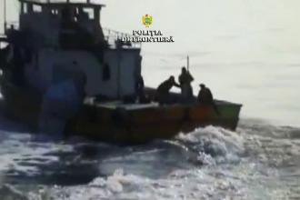 Incident în Marea Neagră între polițiștii de frontieră și echipajul unui pescador turcesc