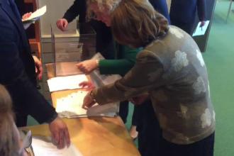 Momentul în care Maria Grapini sare peste un vot în favoarea lui Kovesi. Cine a renumărat