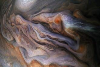 Noi imagini spectaculoase de pe Jupiter. Ce au descoperit cercetătorii NASA