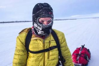 Planul lui Tiberiu Ușeriu pentru a câștiga ''Yukon Artic Ultra''. Vrea să obțină finanțare pentru România