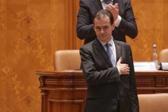 Guvernul Orban a fost votat de Parlament. Măsuri speciale la ceremonia de învestitură