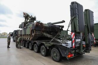 Desfăşurare fără precedent de forţe NATO, inclusiv româneşti. Mesajul transmis Rusiei
