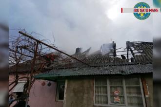 Un bărbat din Satu Mare a dat foc casei, cu fiul său înăuntru. Ce motiv ar fi avut