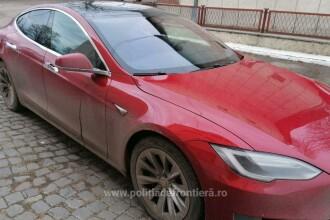Un român a rămas fără autoturismul Tesla de 53.000 de euro imediat după ce a intrat în țară