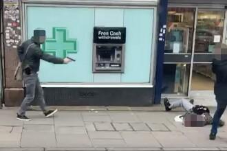 Momentul în care atacatorul din Londra a fost împușcat de poliție. VIDEO