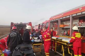 Accident grav la Albița, în Vaslui. A fost activat planul roșu de intervenție