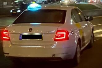 VIDEO. Un taximetrist a fost filmat de client în timp ce mergea cu peste 130 km/h în oraș