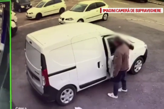 Un fost polițist din Târgu Jiu a fost prins în timp ce fura dintr-o mașină. Ce a luat