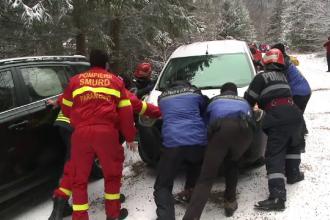 Primul episod violent al vremii din această iarnă. Alerte de vreme rea în toată țara