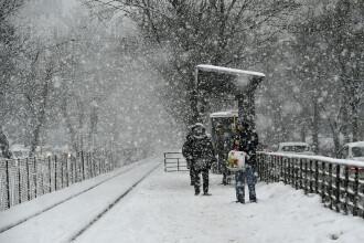 """Gabriela Firea: """"Se va depune un strat de zăpadă de 15-20 cm în sudul Bucureștiului"""""""