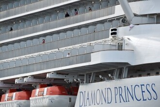 Coronavirusul face ravagii pe Diamond Princess. Alți 100 de pasageri au fost depistați pozitiv