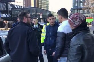 """VIDEO. Reacția unui român, după ce i-a fost detonată mașina, în Londra. """"Ce-a zis?"""""""
