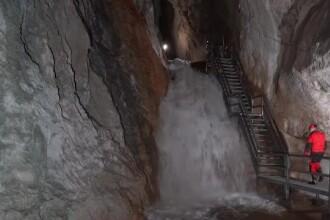 Fenomen inedit într-o peşteră din Munţii Apuseni. Cum s-a format un râu subteran