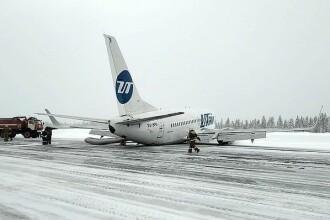 VIDEO. Momentul în care un avion cu plin cu pasageri aterizează forțat în Rusia