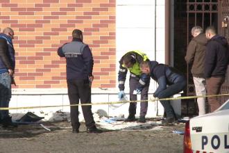 Bancomat aruncat în aer la un hotel din Sinaia. Cu câți bani au reușit să fugă hoții