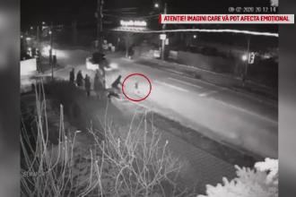Momentul în care un băiețel de 3 ani este izbit în plin pe trecerea de pietoni. VIDEO