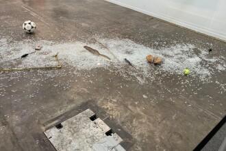 Operă de artă de 20.000 de dolari, distrusă din cauza unei doze de suc