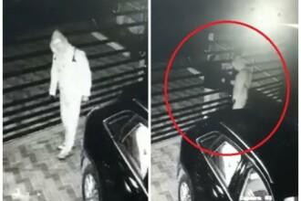 VIDEO. Momentul în care hoții fură bolidul de lux al unui om de afaceri din Oradea din curtea casei