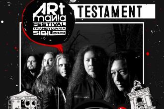 Noi confirmări la ARTmania Festival 2020, în Sibiu: Testament, Port Noir și Fish