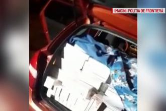 Un șofer din Timiș a lovit mașina Poliției după o urmărire ca în filme. Ce ascundea în autoturism