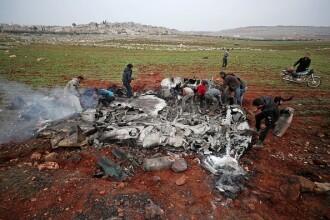 Un elicopter al regimului sirian a fost doborât. Este al doilea într-o săptămână