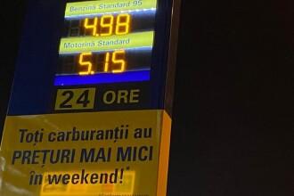 Benzina a ajuns la cel mai mic preţ din ultimii 2 ani, în România. Cu cât se vinde un litru