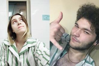 """""""Dragoste în vremea coronavirusului"""". Doi tineri ruși s-au cuplat în carantină"""