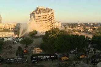 Demolare cu explozibil ratată, în SUA. Ce se va întâmpla acum cu clădirea
