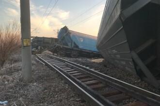 Tren deraiat în judeţul Olt. Mai multe curse au fost anulate sau au întârzieri uriaşe