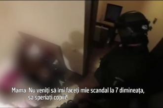 Reacția polițiștilor după ce au fost acuzați că au descins la o adresă greșită din Brașov şi au speriat un copil