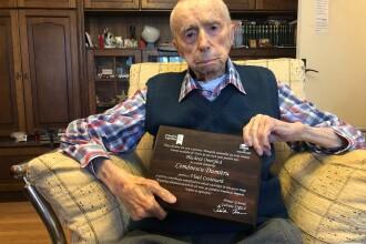 Dumitru Comănescu, declarat cel mai vârstnic bărbat al Planetei, a murit, la 111 ani