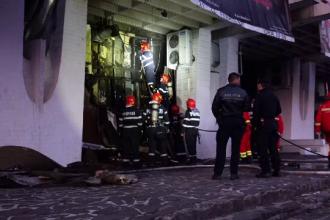 Incendiu la Casa de Cultură din Baia Mare. 40 de oameni, printre care mulți copii, se aflau în clădire