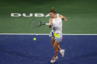 """Halep - Brady. Simona s-a calificat în finala WTA Dubai: """"Zi de zi îmi ridic nivelul"""""""