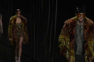 Ținutele cu care Versace a atras toate privirile la Săptămâna Modei de la Milano